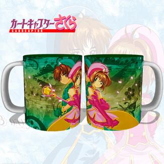 Taza Card Captor Sakura - Sakura & Saoran
