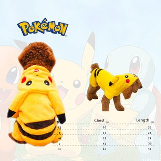 Cosplay for pet Pokemon - Pikachu Size L