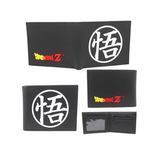 Cartera Dragon Ball Z Kanji in Black