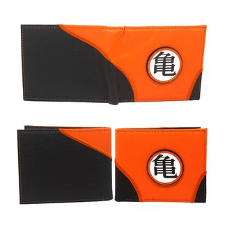 Dragon Ball Z Wallet Orange & Black
