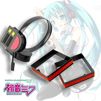 Replica Headphones Vocaloid - Hatsune Miku with earclips