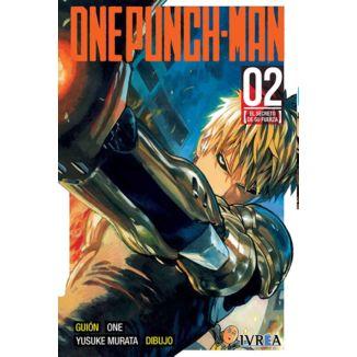 One Punch Man #02 (spanish) Manga Oficial Ivrea