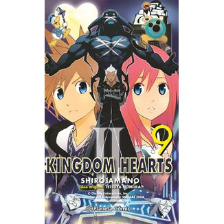 09# Kingdom Hearts II Manga Oficial Planeta Comic (spanish)