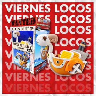 VIERNES LOCOS Figura One Piece - Barco Going Merry