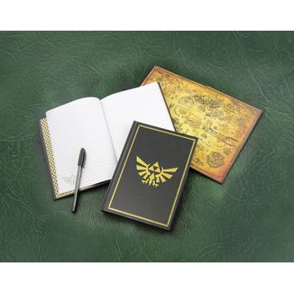 Libreta A5 - The Legend of Zelda - Trifuerza