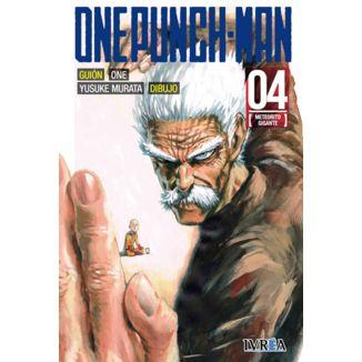 One Punch Man #04 (Spanish) Manga Oficial Ivrea