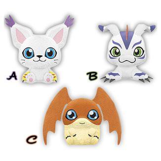 Plush dollGatomon, Patamon, Gomamon Digimon