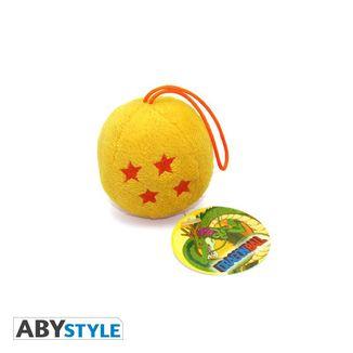 Llavero de Peluche Bola de 4 Estrellas Dragon Ball