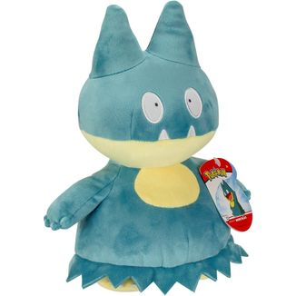 Munchlax Plush Doll Pokemon 20 cms