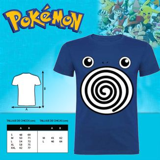 T-shirt  Poliwhirl