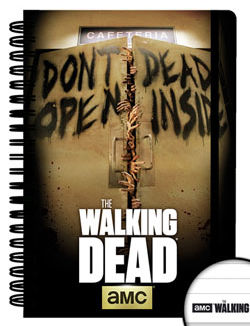 Libreta A5 - Walking Dead - Dead Inside