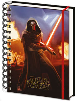 Notebook A5 - Star Wars Episode VII - Kylo Ren