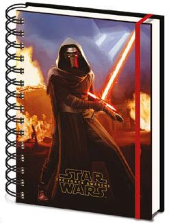 Libreta Lenticular A5 - Star Wars Episode VII - Kylo Ren