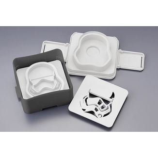 Bread Mold Star Wars - First order StormTrooper