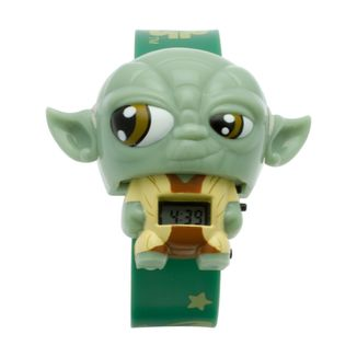 Wrist Watch Star Wars - Yoda with light