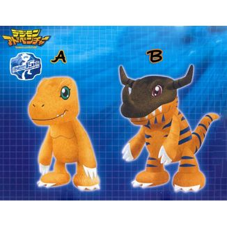 Plush doll Agumon Greymon Digimon