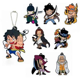 Keychain One Piece - Rubber Mascot: Gi no Otokotachi (Random)