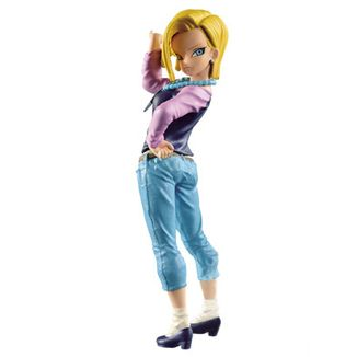 Android 18 Figure Dragon Ball Super BWFC