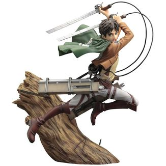 Eren Yeager Renewal Package Figure Attack on Titan ARTFXJ