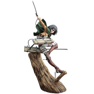 Mikasa Ackerman Renewal Package Figure Ataque a los Titanes ARTFXJ