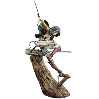 Mikasa Ackerman Renewal Package Figure Attack on Titans ARTFXJ