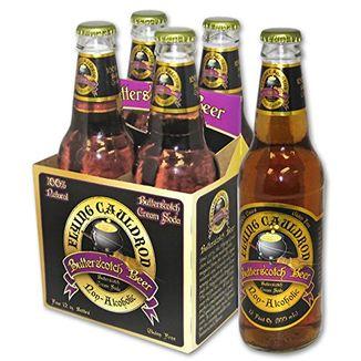 Cerveza de Mantequilla Harry Potter - Flying Cauldron Pack de 4
