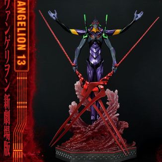 Estatua Evangelion Unit 13 Deluxe Version Neon Genesis Evangelion Ultimate Diorama Masterline