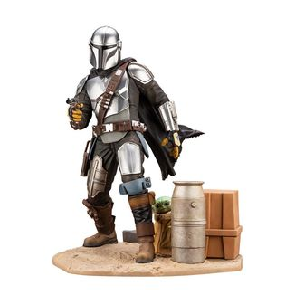 Figura Mandalorian & The Child Star Wars The Mandalorian ARTFX
