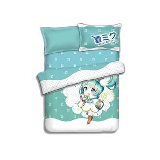 Juego de cama Vocaloid - Snow MIku #01