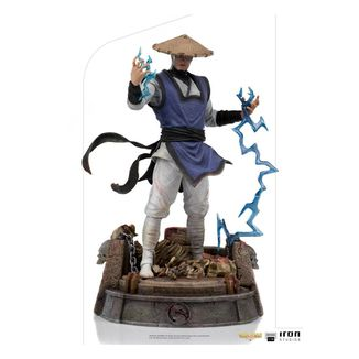 Estatua Raiden Mortal Kombat