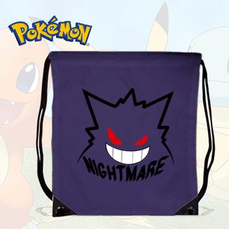 Bolso GYM Pokemon - Gengar Nightmare