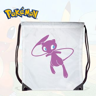 Bolso GYM Pokemon - Mew White