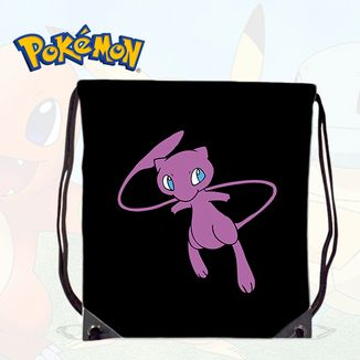 Bolso GYM Pokemon -Mew Black