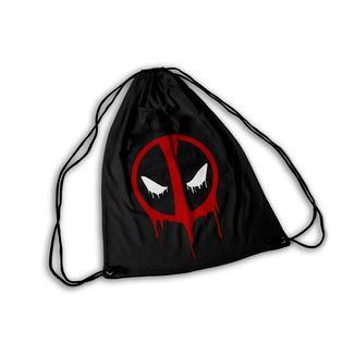 Mochila GYM Deadpool Face Dripping