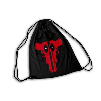Mochila GYM Deadpool Guns