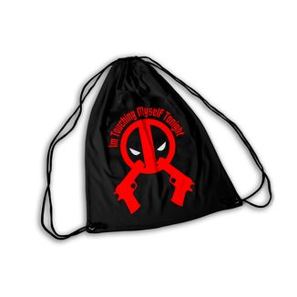 Mochila GYM Deadpool Touching Myself