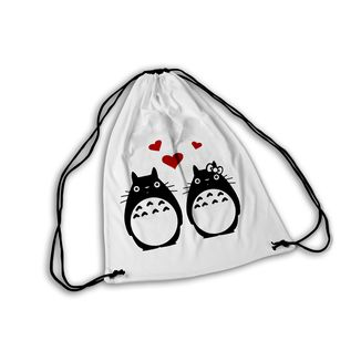 Ghibli GYM Bag Totoro Couple in love