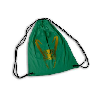 Mochila GYM Loki Helmet Marvel Comics