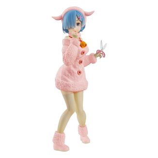 Figura Rem The Wolf and the Seven Kids Pastel Color Re:ZERO SSS