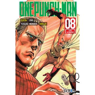 One Punch Man #08 (Spanish) Manga Oficial Ivrea