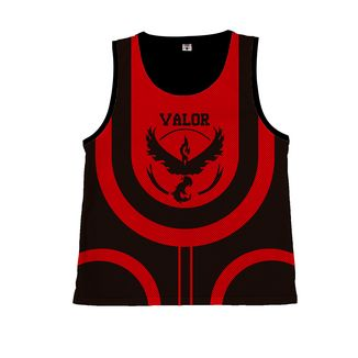 Camiseta Basket Pokemon GO - Team Valor