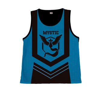 Camiseta Basket Pokemon GO - Team Mystic