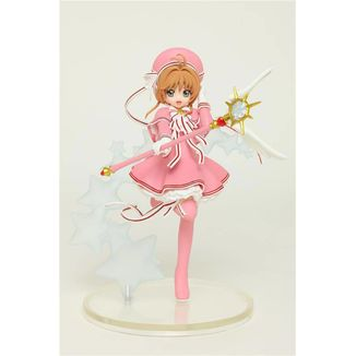 Sakura Kinomoto in pink Figure Cardcaptor Sakura Clear Card