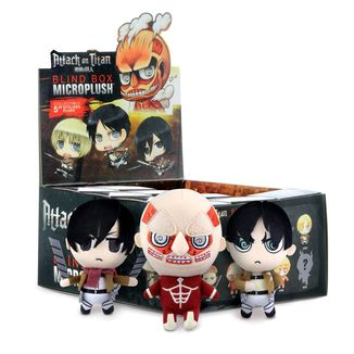 Plush Doll Attack on Titan - Premium Satin Stitch - Random