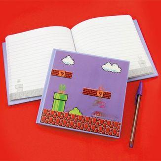 Libreta A5 Super Mario Bros - Portada 3D