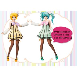 Figura Vocaloid - Hatsune Miku & Kagamine Rin Cheerful Candy - Colorful
