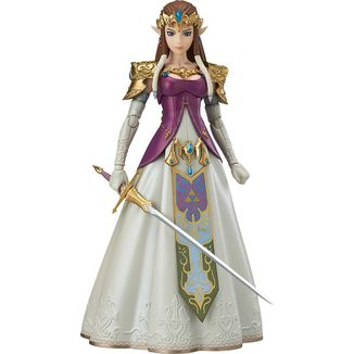 Figma Princesa Zelda - The Legend of Zelda Twilight Princess (con tara)