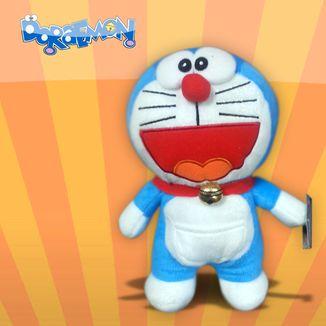 Plush Doll Doraemon Happy V1 Doraemon