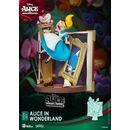Figura Alicia en el Pais de las Maravillas Disney Diorama D-Stage Story Book Series