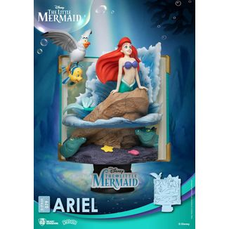 Ariel Little Mermaid Disney Diorama D-Stage Story Book Series